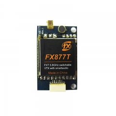 FXT FX877T 5.8GHz 37ch switchable power video transmitter with smartaudio